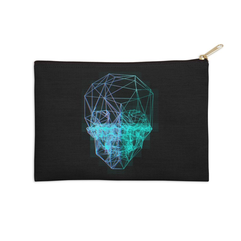 Death in 3D Accessories Zip Pouch by nvil's Artist Shop