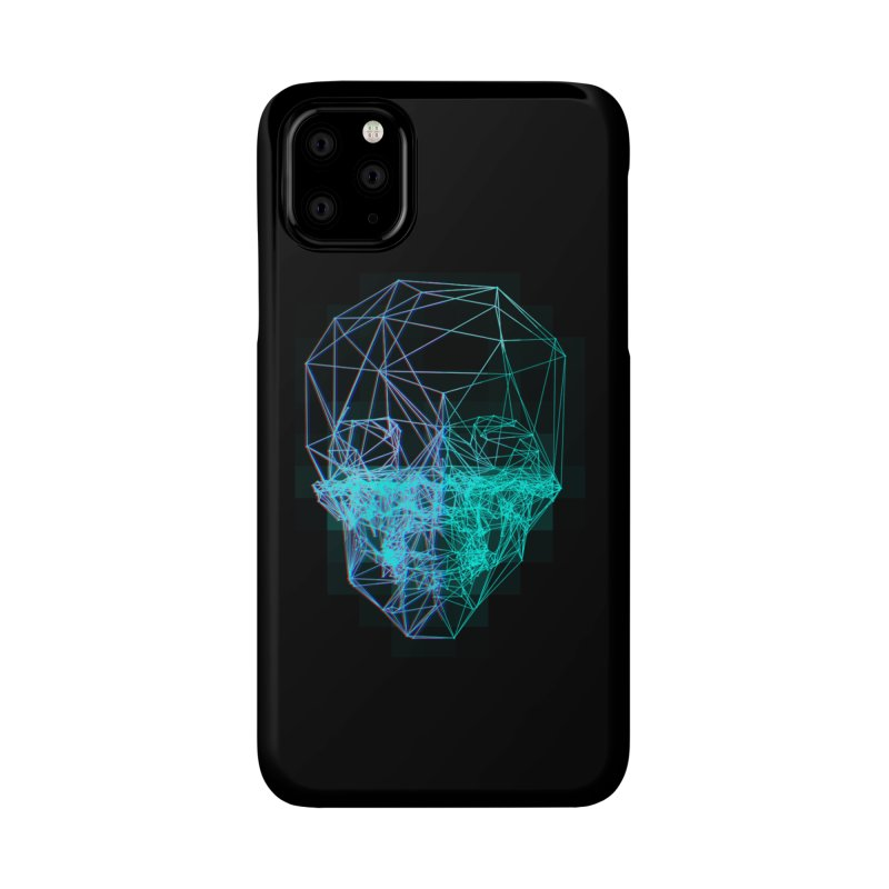 Death in 3D Accessories Phone Case by nvil's Artist Shop
