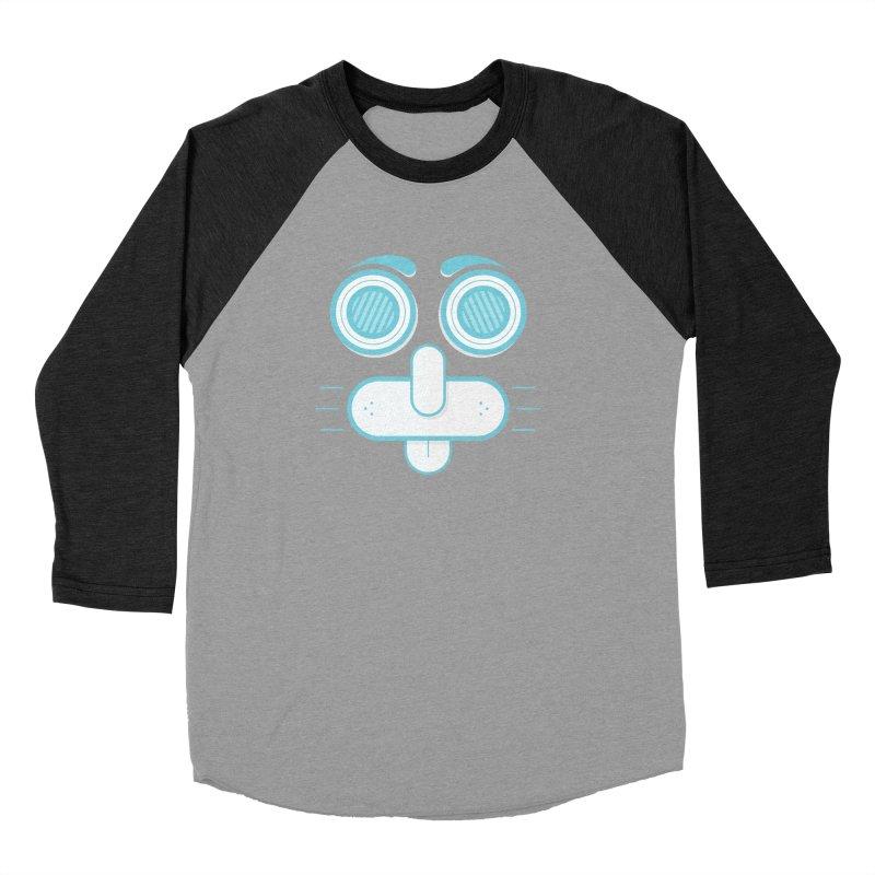 Dog Face Men's Longsleeve T-Shirt by nvil's Artist Shop