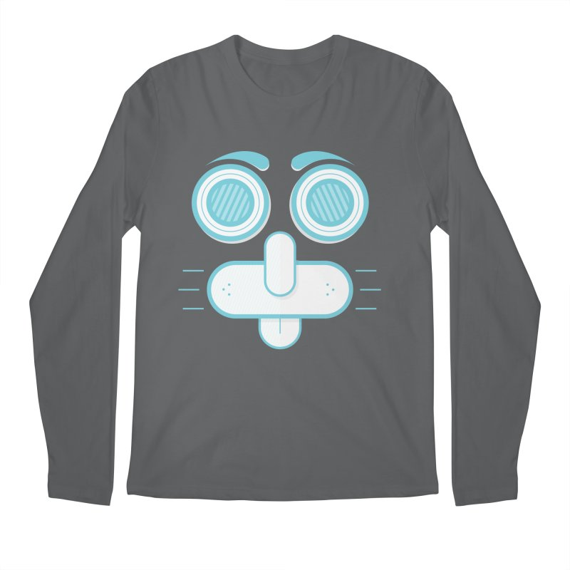 Dog Face Men's Longsleeve T-Shirt by nvil's Artist Shop