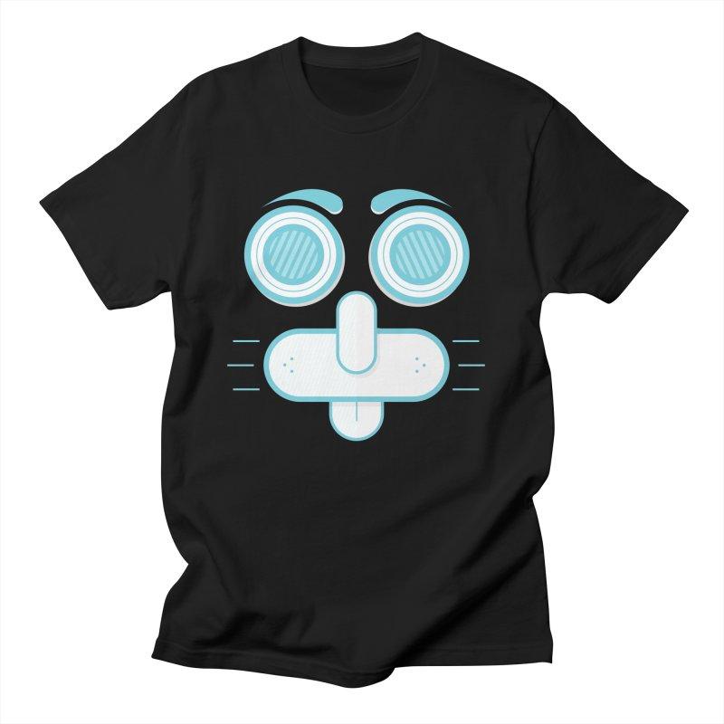 Dog Face Men's Regular T-Shirt by nvil's Artist Shop