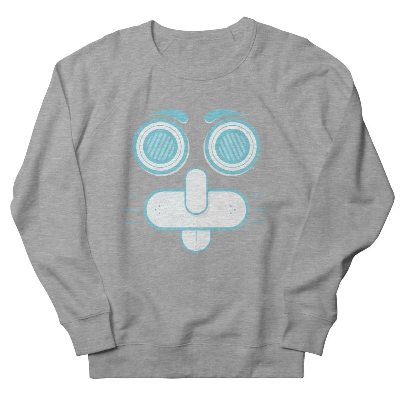 Dog Face Women's French Terry Sweatshirt by nvil's Artist Shop