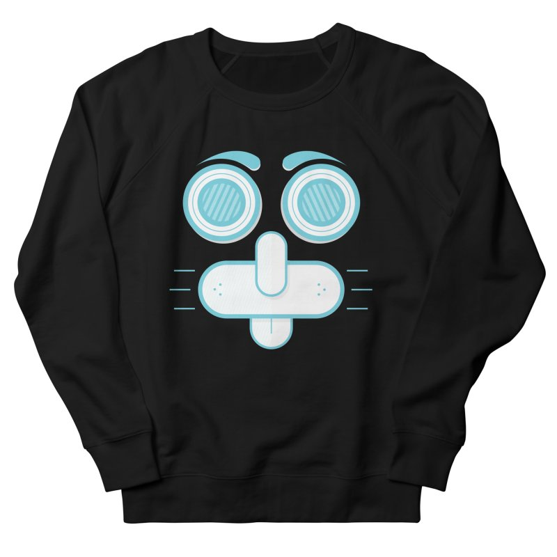 Dog Face Men's Sweatshirt by nvil's Artist Shop