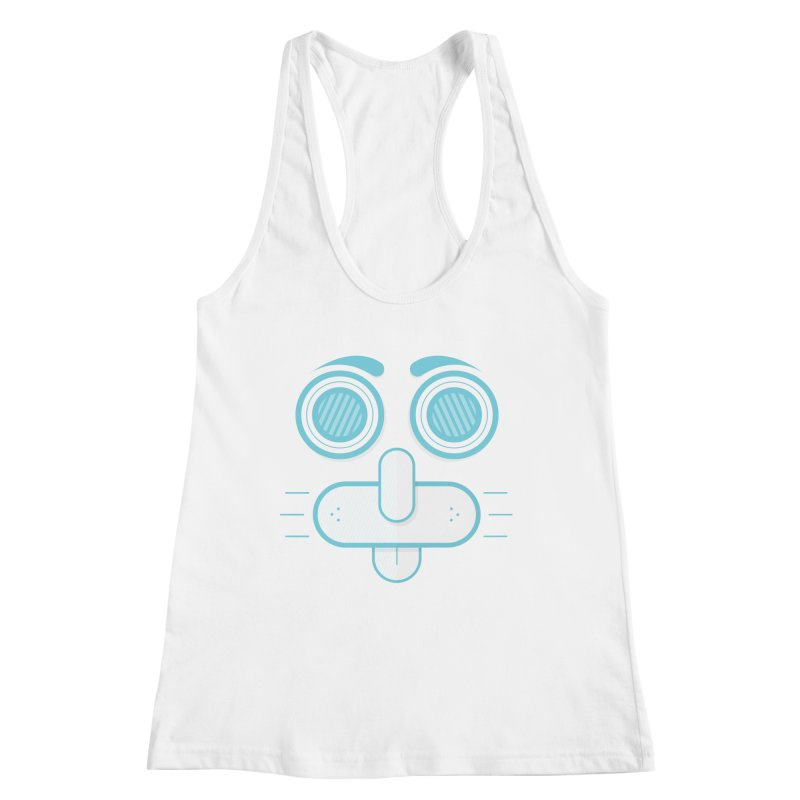 Dog Face Women's Tank by nvil's Artist Shop