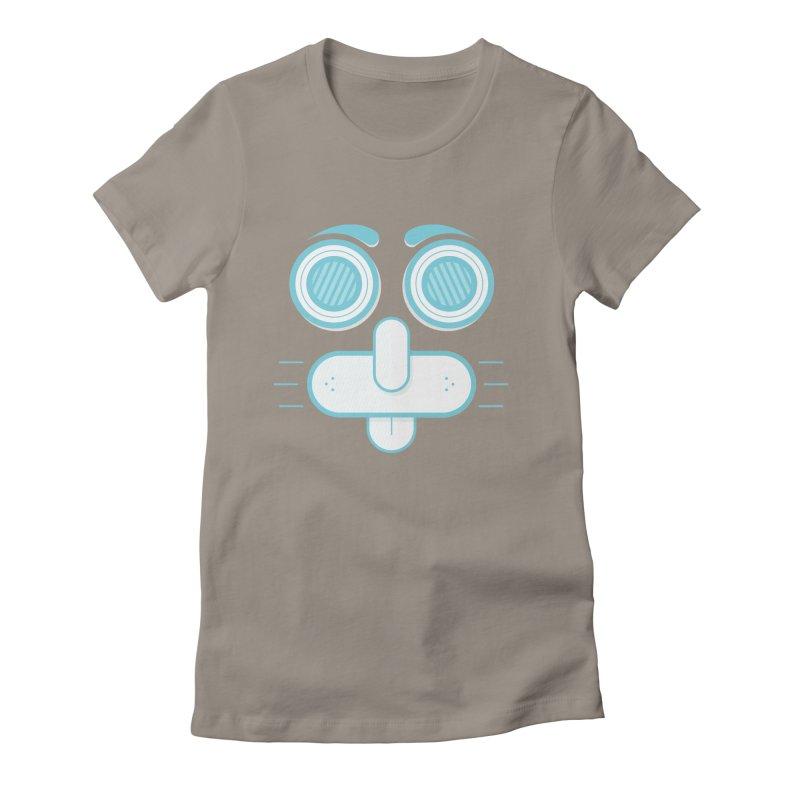Dog Face Women's T-Shirt by nvil's Artist Shop