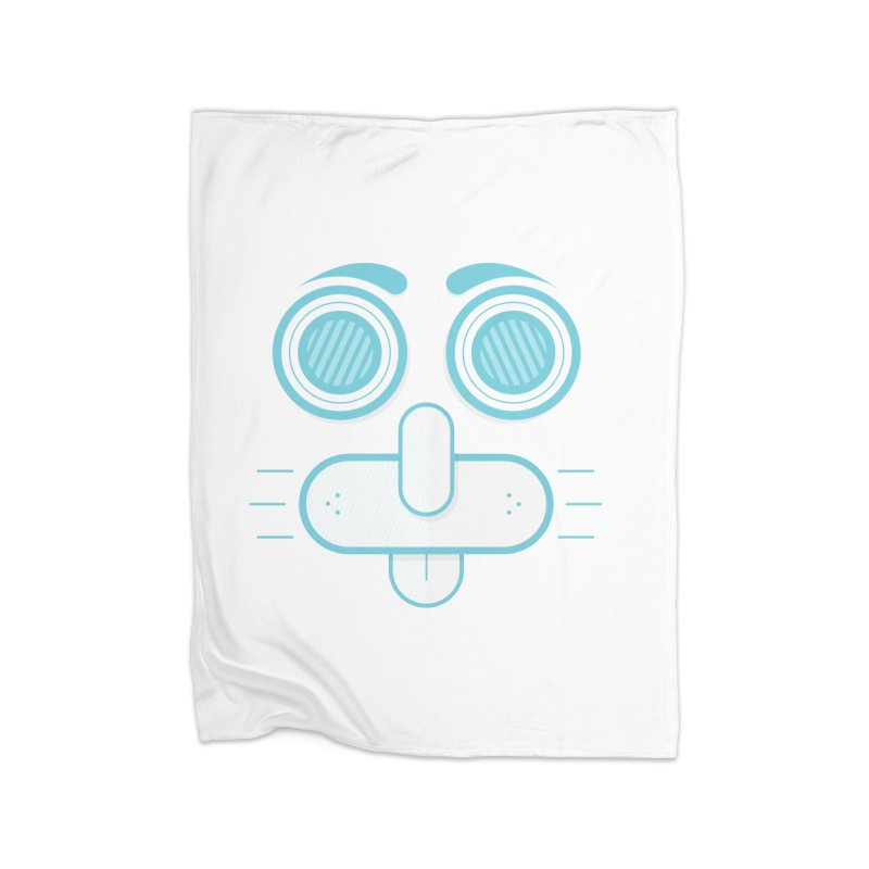Dog Face Home Blanket by nvil's Artist Shop