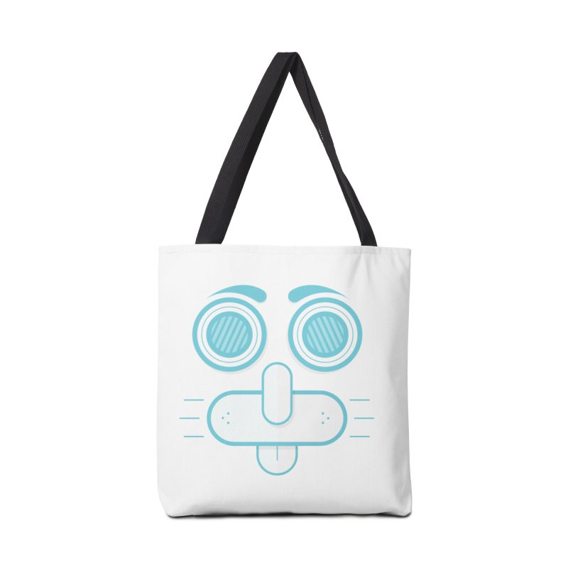 Dog Face Accessories Bag by nvil's Artist Shop
