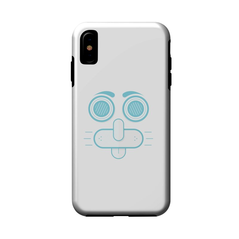 Dog Face Accessories Phone Case by nvil's Artist Shop