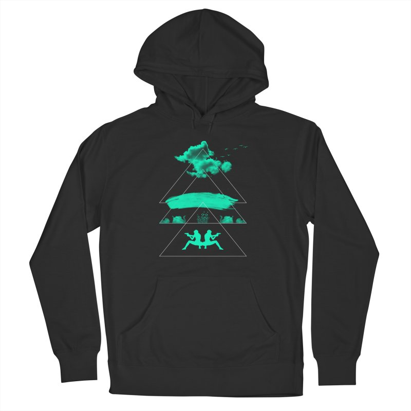 Smoky Triangles Men's Pullover Hoody by nvil's Artist Shop
