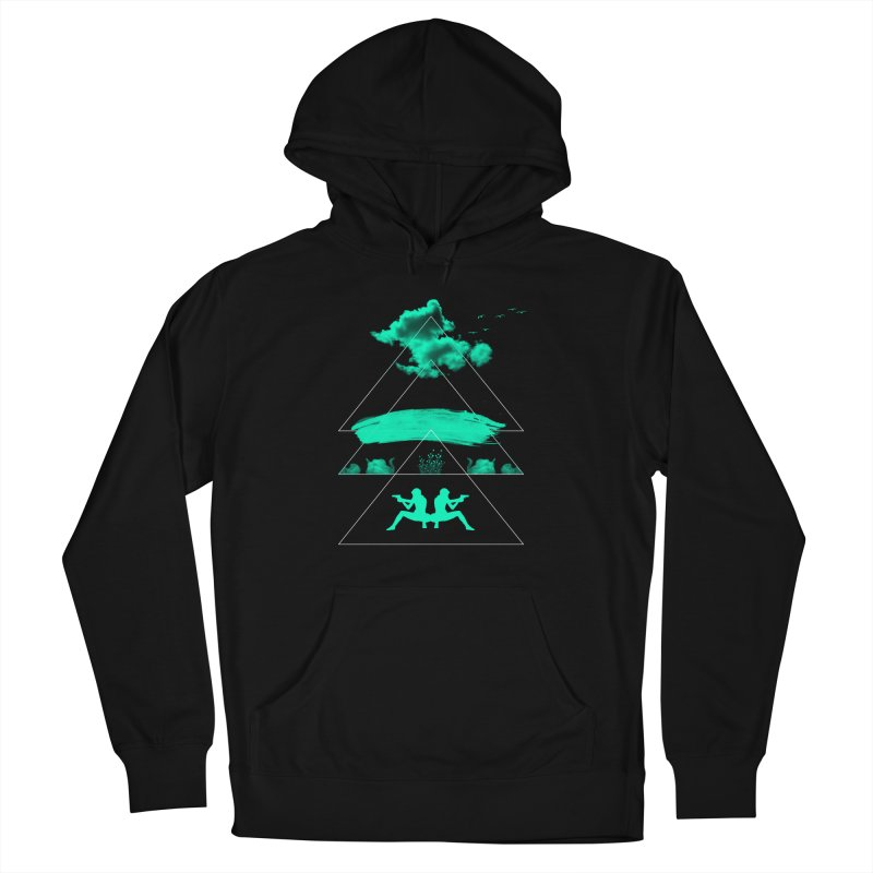 Smoky Triangles Women's Pullover Hoody by nvil's Artist Shop