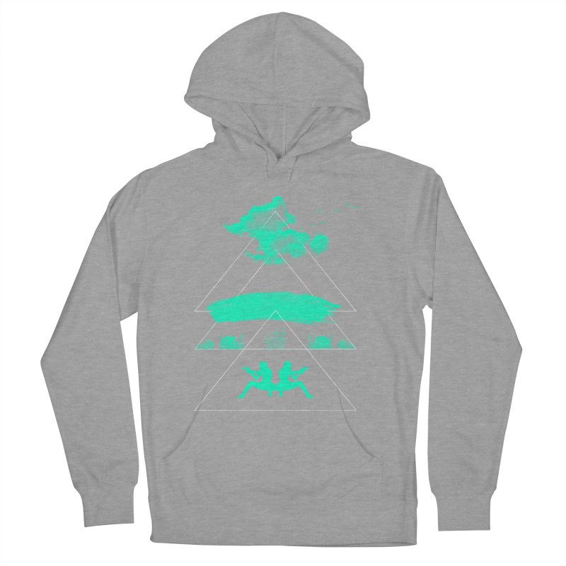 Smoky Triangles Men's French Terry Pullover Hoody by nvil's Artist Shop