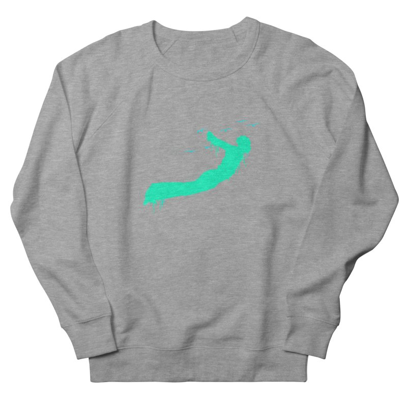 BE FREE Men's French Terry Sweatshirt by nvil's Artist Shop