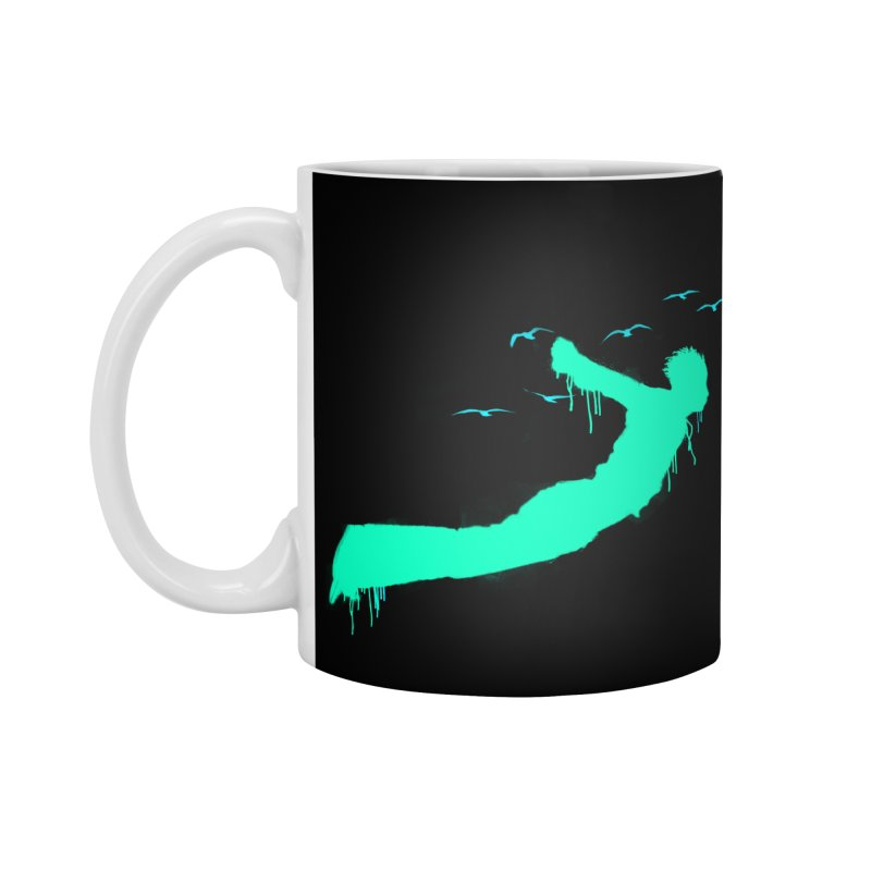 BE FREE Accessories Mug by nvil's Artist Shop