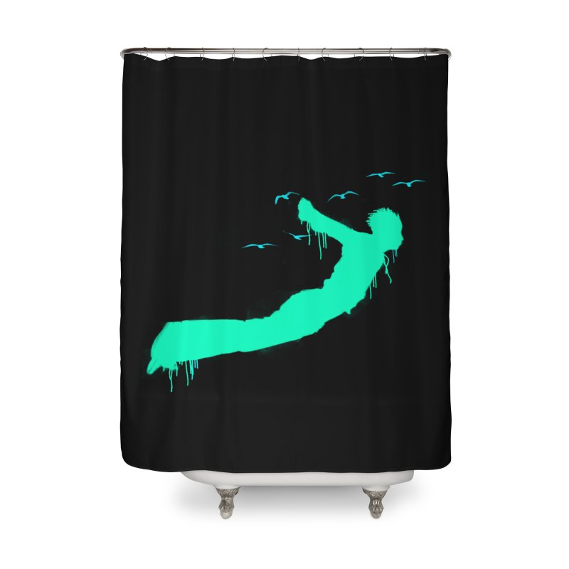 BE FREE Home Shower Curtain by nvil's Artist Shop