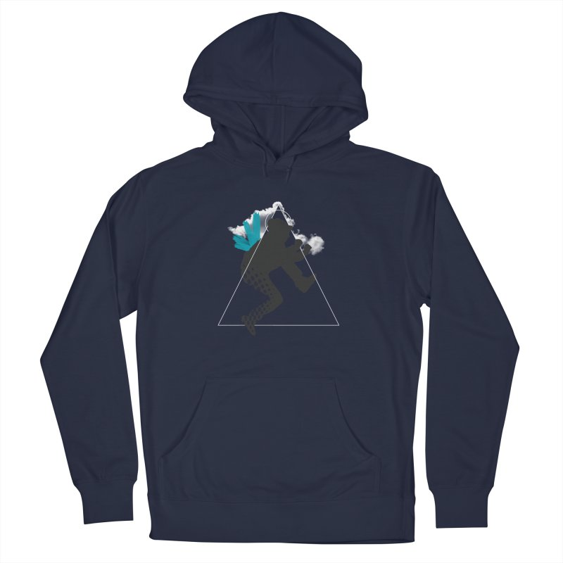 Free flying Women's French Terry Pullover Hoody by nvil's Artist Shop