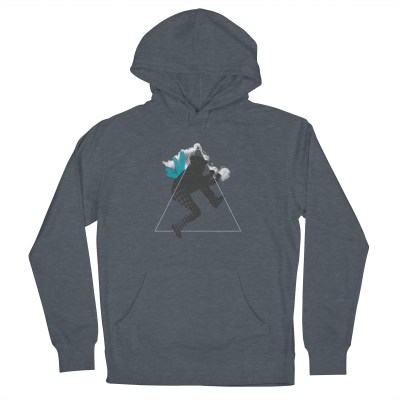 Free flying Men's French Terry Pullover Hoody by nvil's Artist Shop