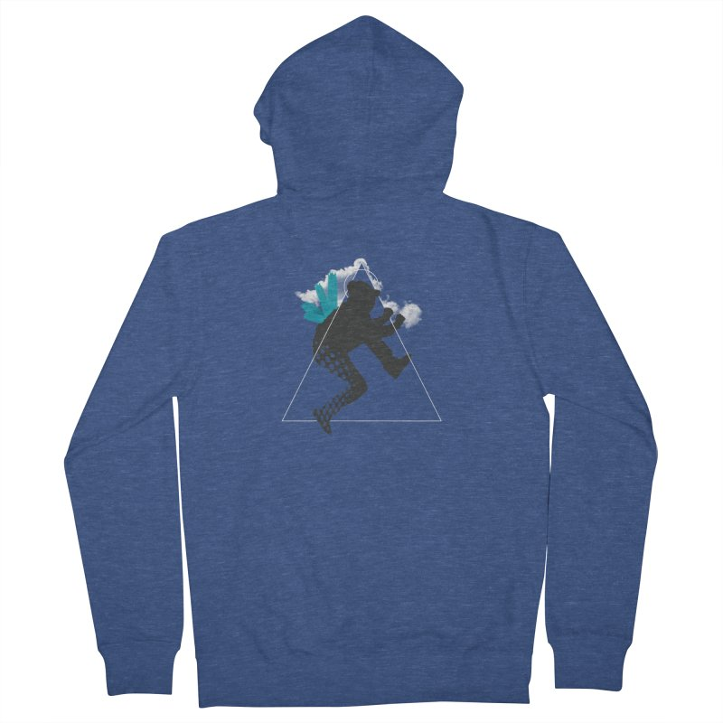 Free flying Women's Zip-Up Hoody by nvil's Artist Shop