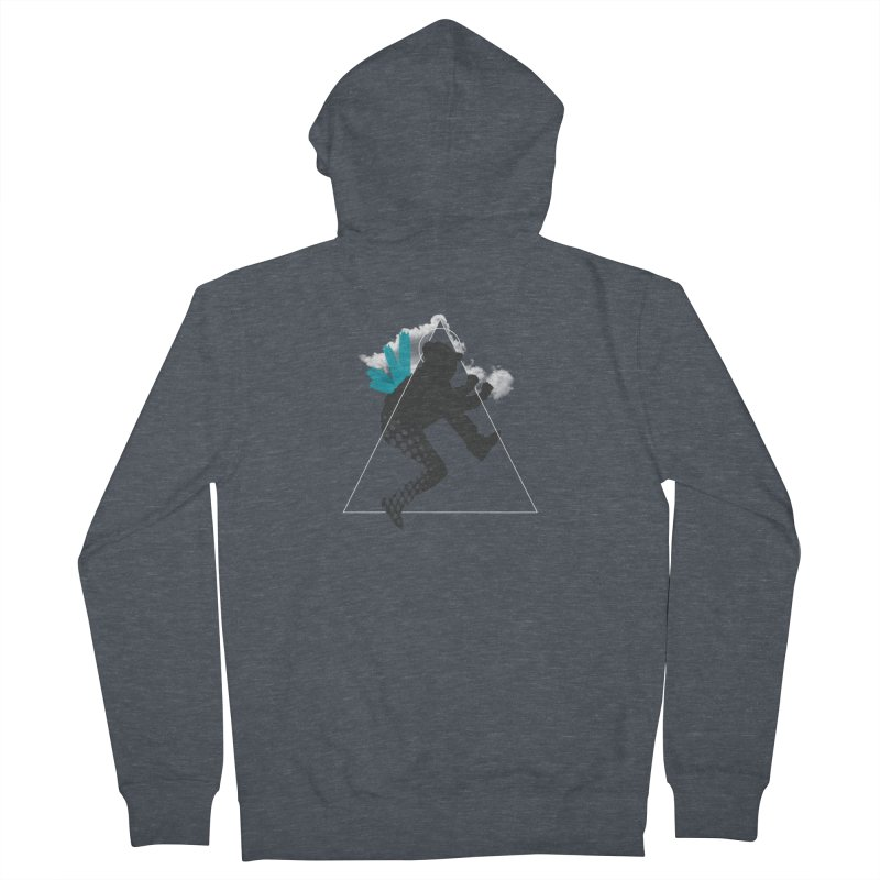 Free flying Men's Zip-Up Hoody by nvil's Artist Shop