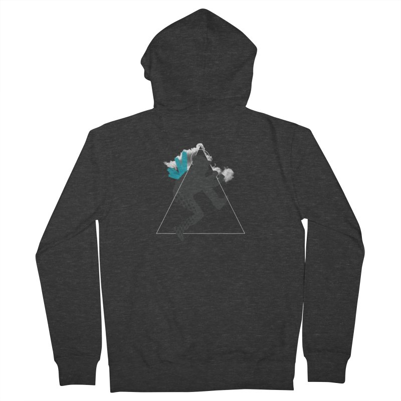 Free flying Men's French Terry Zip-Up Hoody by nvil's Artist Shop