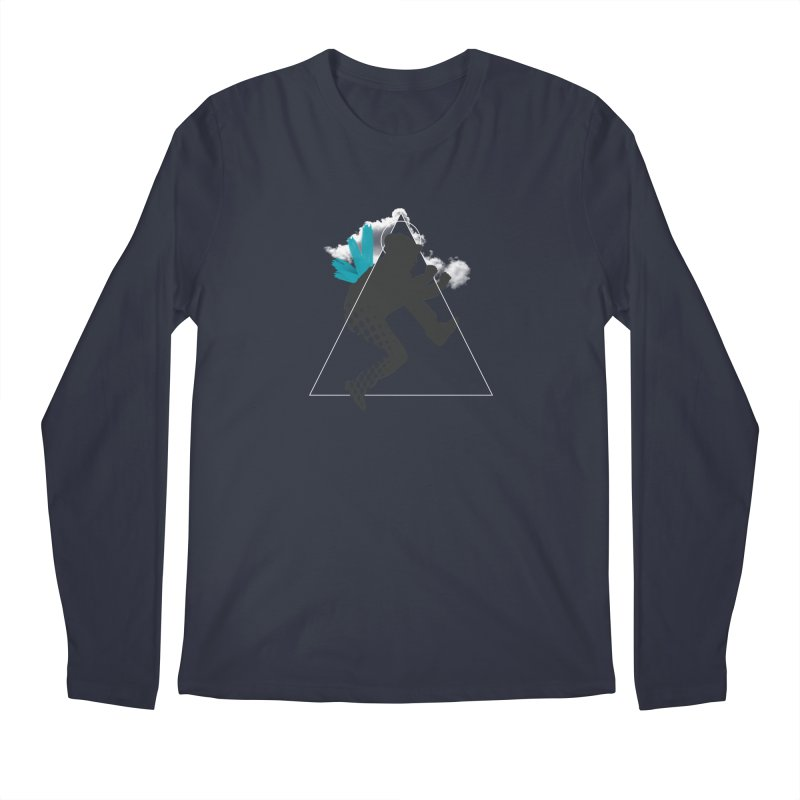 Free flying Men's Regular Longsleeve T-Shirt by nvil's Artist Shop