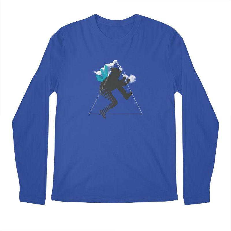 Free flying Men's Regular Longsleeve T-Shirt by nvil's Artist Shop