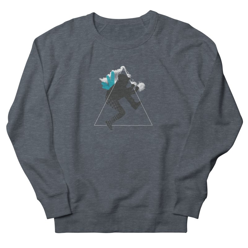 Free flying Men's French Terry Sweatshirt by nvil's Artist Shop