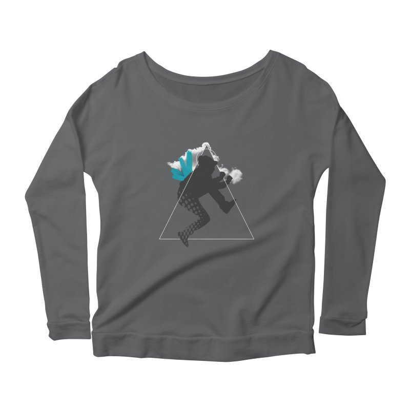 Free flying Women's Scoop Neck Longsleeve T-Shirt by nvil's Artist Shop