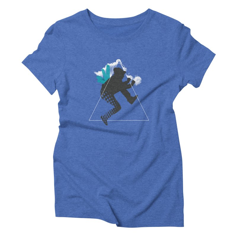 Free flying Women's Triblend T-Shirt by nvil's Artist Shop