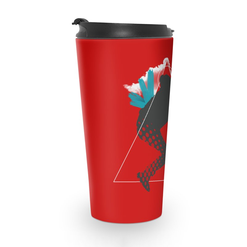 Free flying Accessories Travel Mug by nvil's Artist Shop