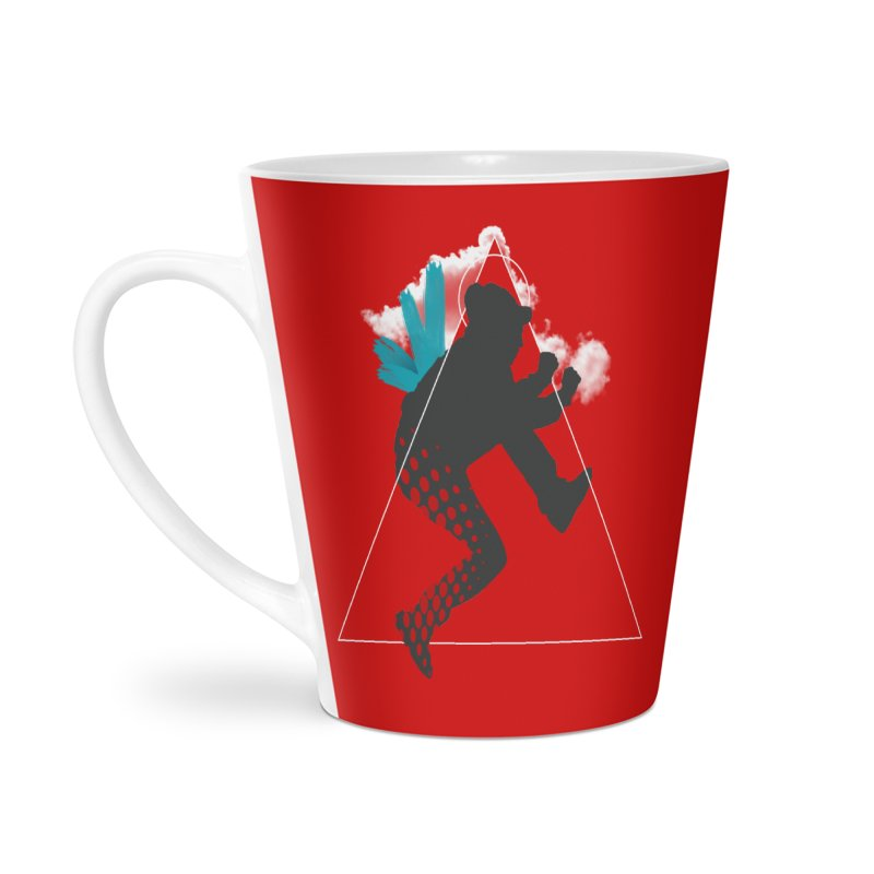 Free flying Accessories Latte Mug by nvil's Artist Shop