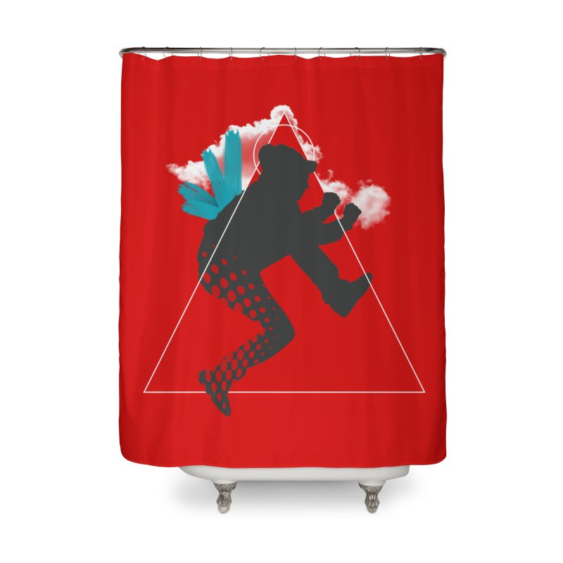 Free flying Home Shower Curtain by nvil's Artist Shop