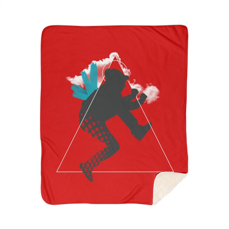 Free flying Home Blanket by nvil's Artist Shop