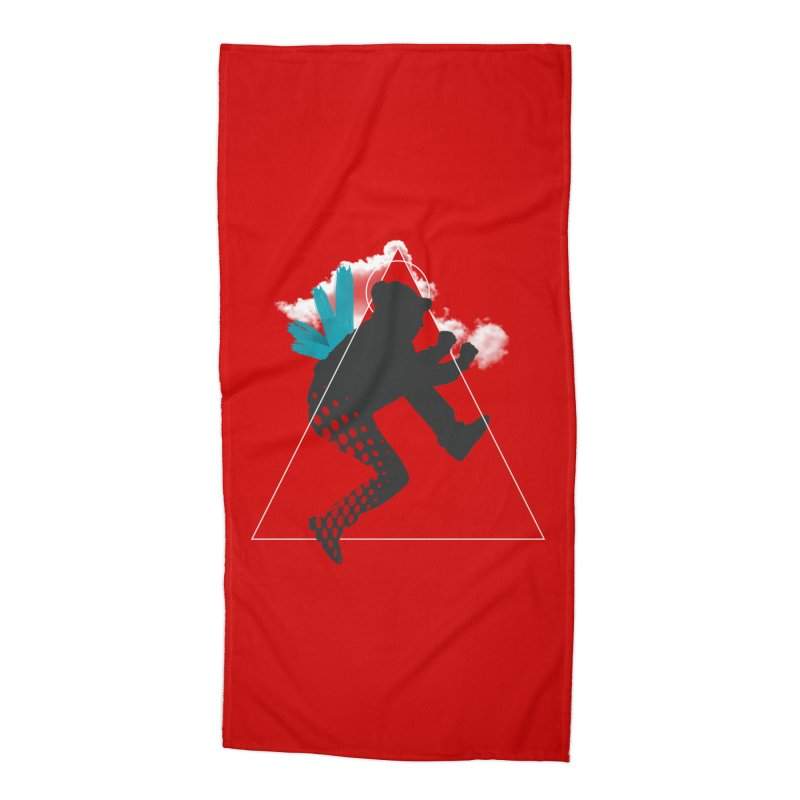 Free flying Accessories Beach Towel by nvil's Artist Shop