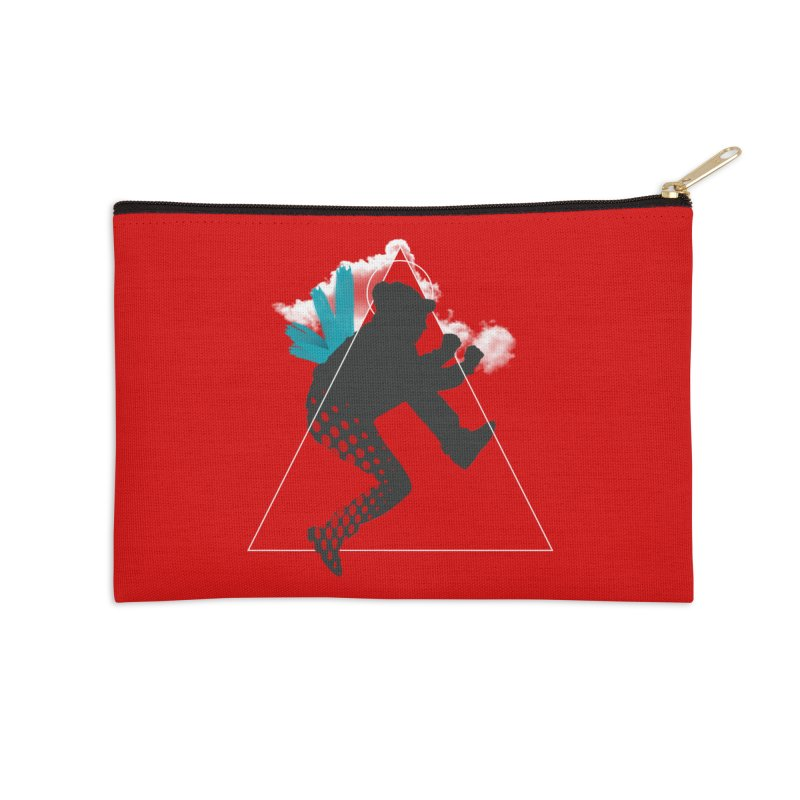 Free flying Accessories Zip Pouch by nvil's Artist Shop