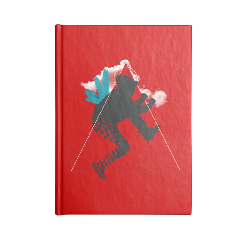Free flying Accessories Lined Journal Notebook by nvil's Artist Shop