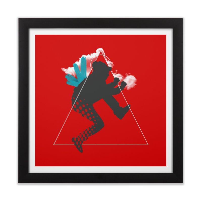 Free flying Home Framed Fine Art Print by nvil's Artist Shop