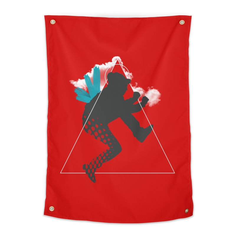 Free flying Home Tapestry by nvil's Artist Shop