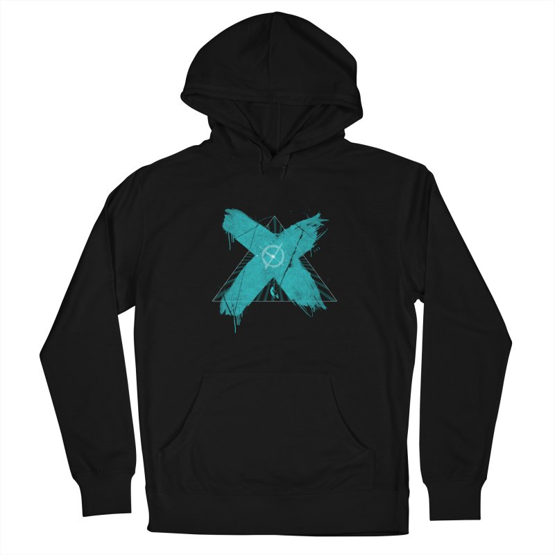 X marks the spot Women's French Terry Pullover Hoody by nvil's Artist Shop