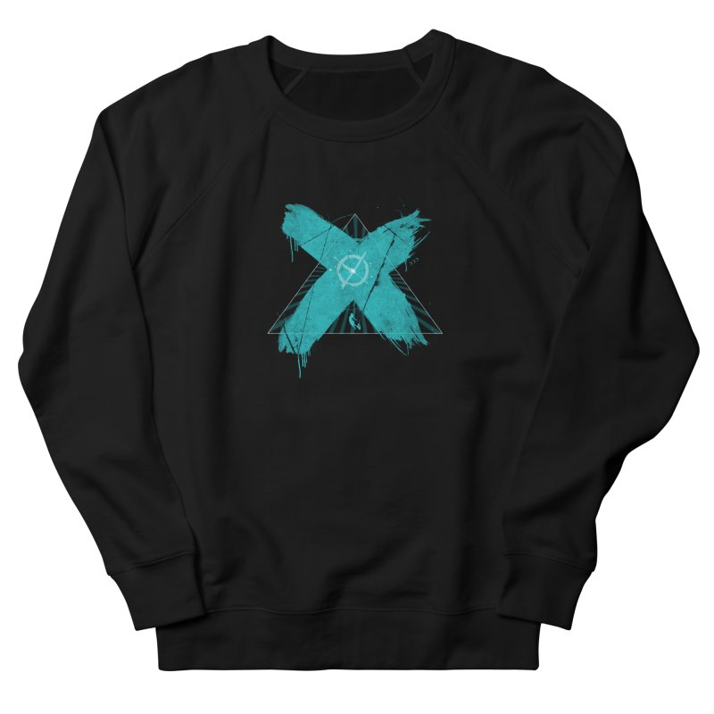 X marks the spot Women's French Terry Sweatshirt by nvil's Artist Shop
