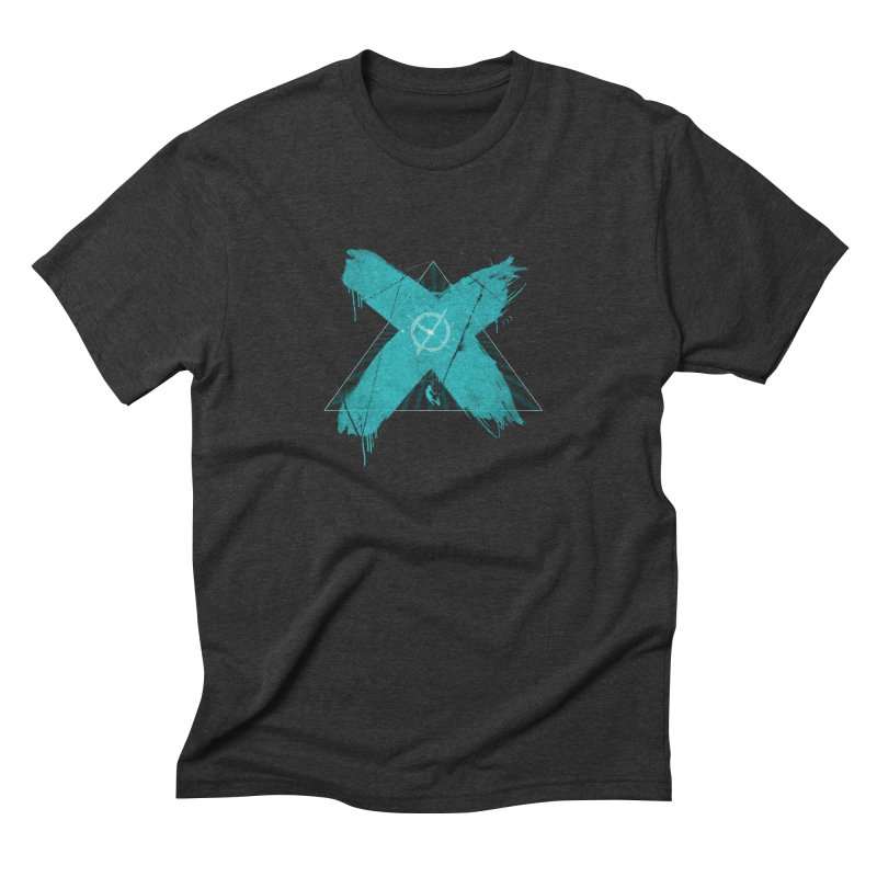 X marks the spot Men's Triblend T-Shirt by nvil's Artist Shop