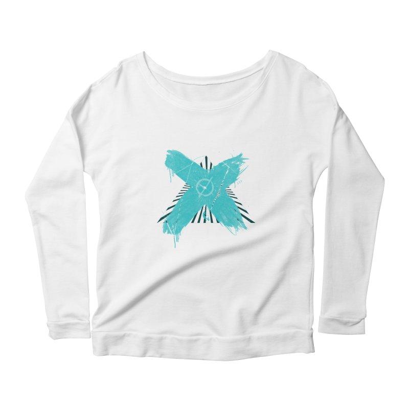 X marks the spot Women's Scoop Neck Longsleeve T-Shirt by nvil's Artist Shop
