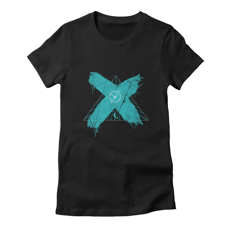 X marks the spot Women's T-Shirt by nvil's Artist Shop