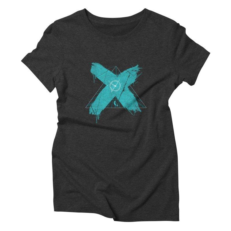 X marks the spot Women's Triblend T-Shirt by nvil's Artist Shop