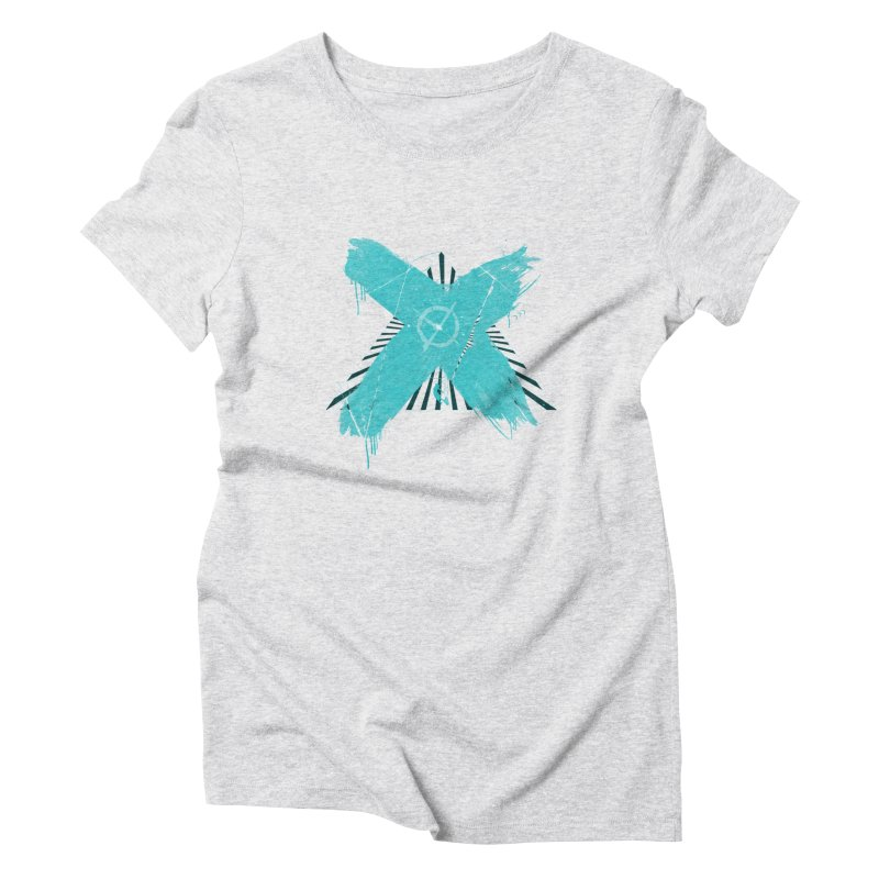 X marks the spot Women's Triblend T-Shirt by nvil's Artist Shop