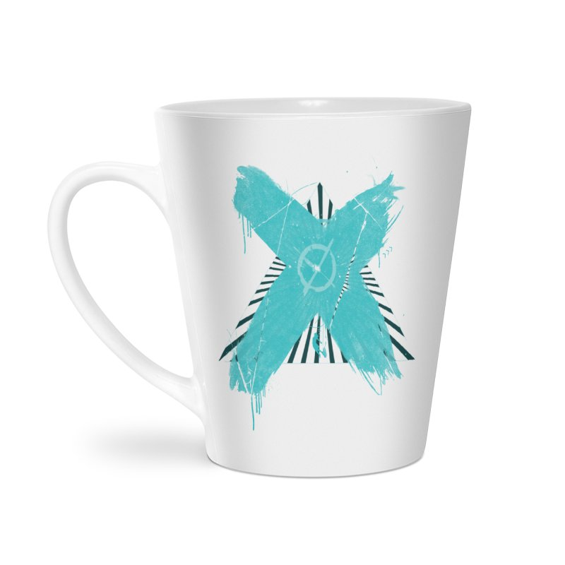 X marks the spot Accessories Latte Mug by nvil's Artist Shop