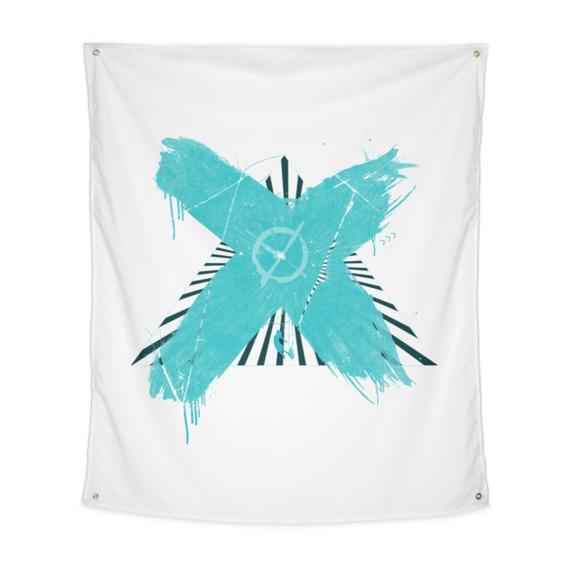 X marks the spot Home Tapestry by nvil's Artist Shop