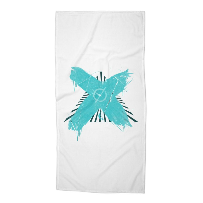 X marks the spot Accessories Beach Towel by nvil's Artist Shop