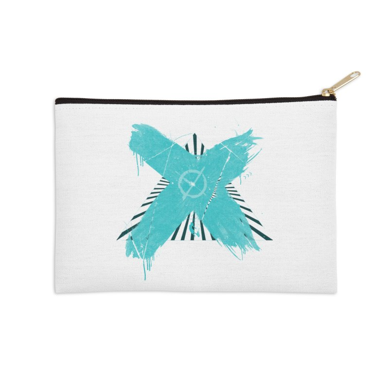 X marks the spot Accessories Zip Pouch by nvil's Artist Shop