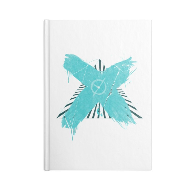 X marks the spot Accessories Lined Journal Notebook by nvil's Artist Shop