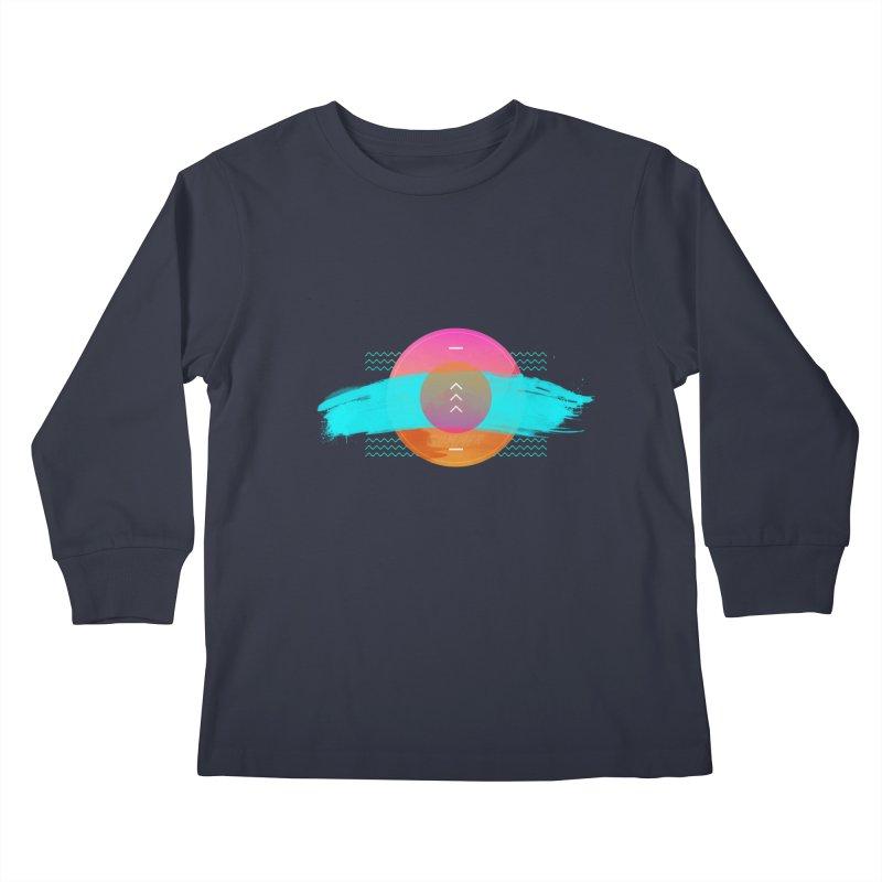 Summer 1979 Kids Longsleeve T-Shirt by nvil's Artist Shop